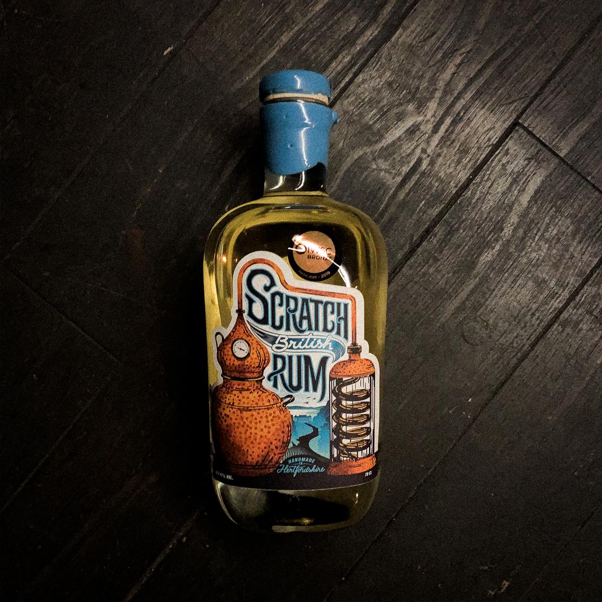 Scratch British Rum