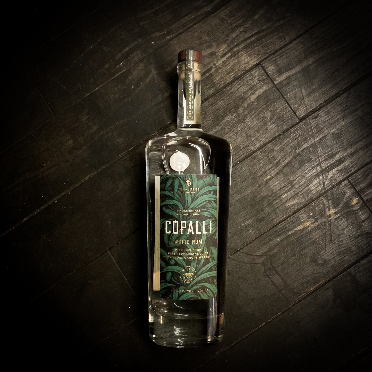 Copalli Single Estate White Rum